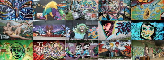 Second collage of TerraCycle Graffiti