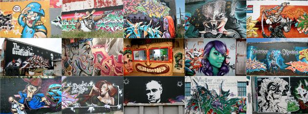 Third collage of TerraCycle Graffiti